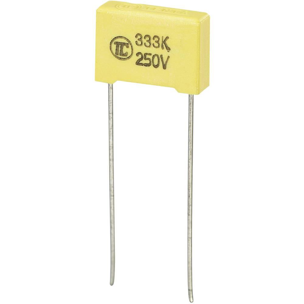 MKS-folijski kondenzator, radijalno ožičen 0.033 µF 250 V/DC 5 % 10 mm (D x Š x V) 13 x 4 x 9 mm 1 kos