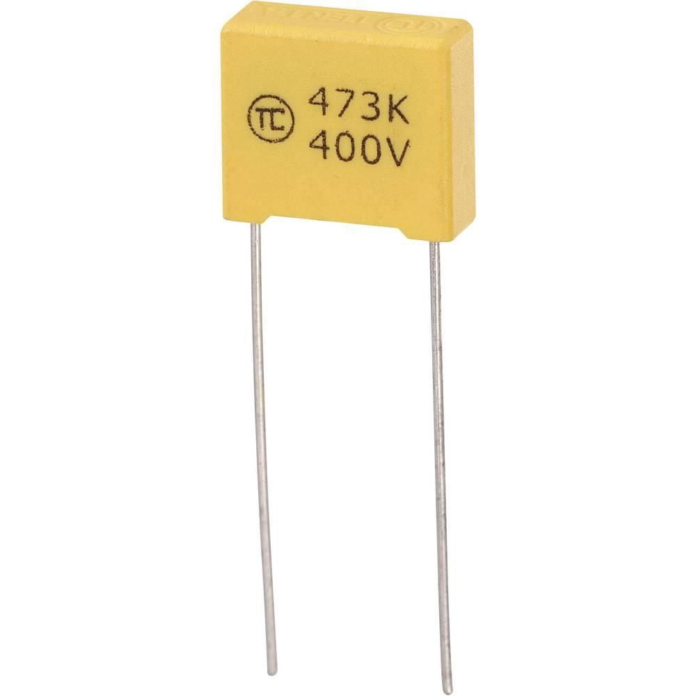 MKS-folijski kondenzator, radijalno ožičen 0.047 µF 400 V/DC 5 % 10 mm (D x Š x V) 13 x 5 x 11 mm 1 kos
