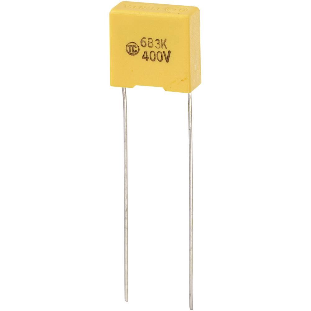 MKS-folijski kondenzator, radijalno ožičen 0.068 µF 400 V/DC 5 % 10 mm (D x Š x V) 13 x 6 x 12 mm 1 kos