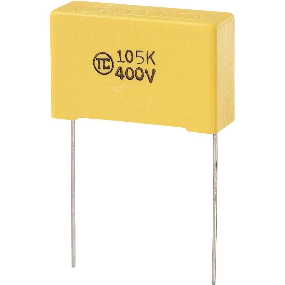 MKS-folijski kondenzator, radijalno ožičen 1 µF 400 V/DC 5 % 27.5 mm (D x Š x V) 32 x 11 x 20 mm 1 kos