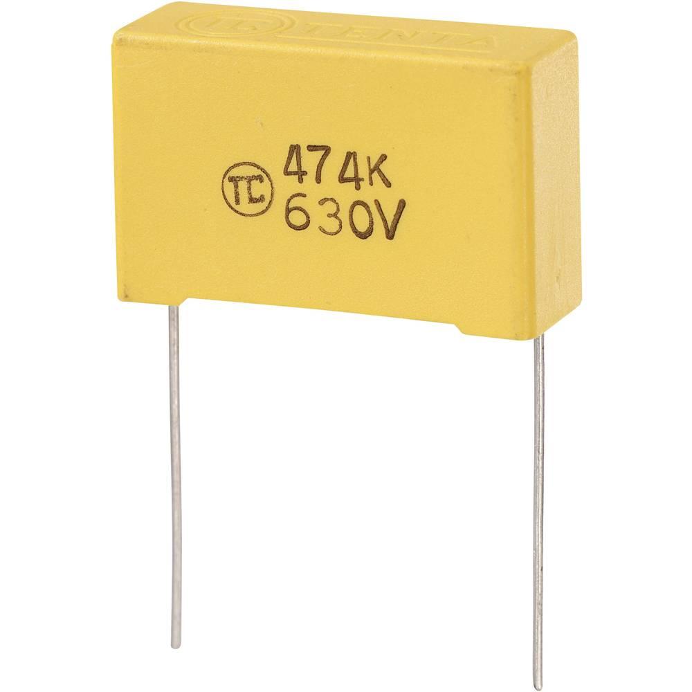 MKS-folijski kondenzator, radijalno ožičen 0.47 µF 630 V/DC 5 % 27.5 mm (D x Š x V) 32 x 11 x 20 mm 1 kos