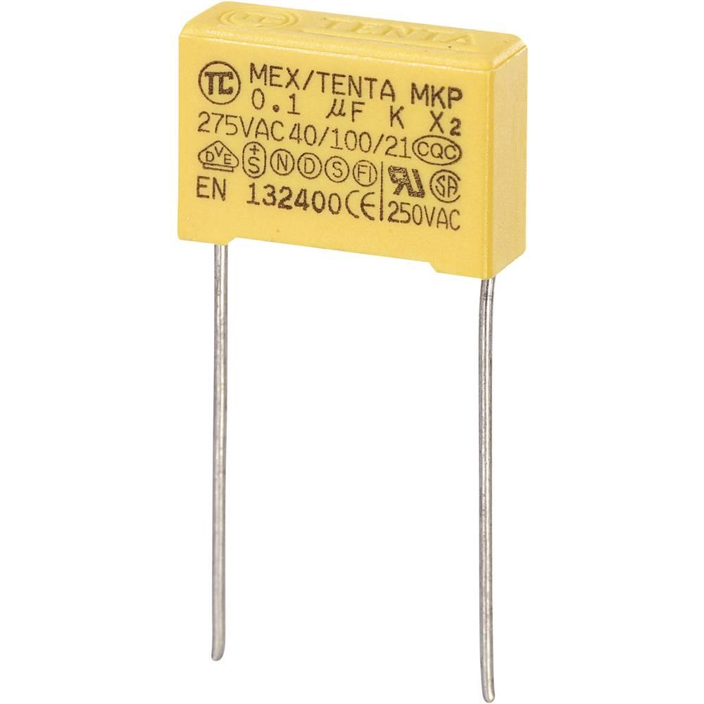 MKP-X2-Radijski kondenzator za uklanjanje smetnji, radijalno ožičen 0.15 µF 275 V/AC 10 % 15 mm (D x Š x V) 18 x 8.5 x 14.
