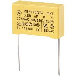 TRU COMPONENTS MKP-X2 MKP-X2-Kondenzator za odpravljanje motenj Radialno ožičen 0.56 µF 275 V/AC 10 % 27.5 mm (D x Š x V)