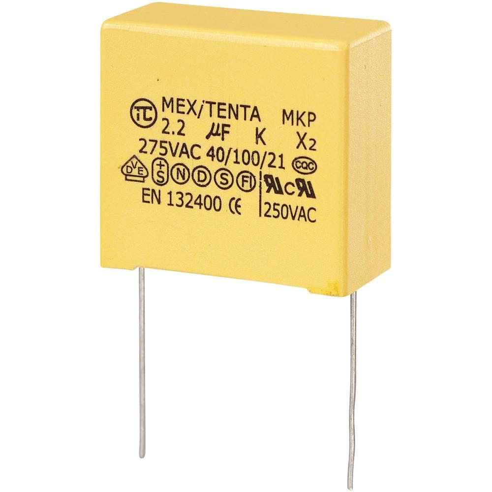 MKP-X2-Radijski kondenzator za uklanjanje smetnji, radijalno ožičen 2 µF 275 V/AC 10 % 27.5 mm (D x Š x V) 32 x 15 x 30 mm