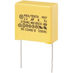 MKP-X2-radijski kondenzator za uklanjanje smetnji, radijalno ožičen 2.2 µF 275 V/AC 10 % 27.5 mm (D x Š x V) 32 x 18 x 30