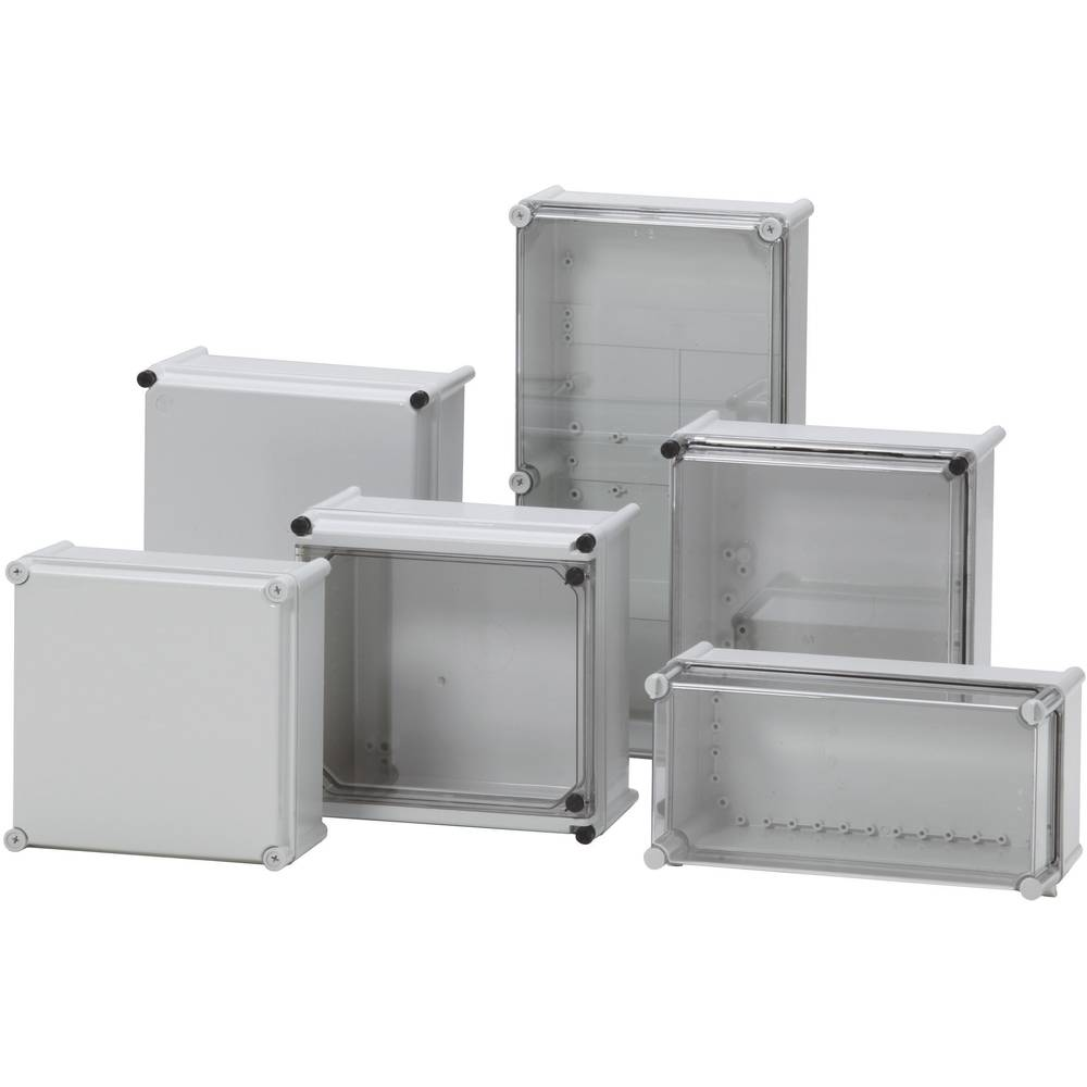 Installationskabinet Fibox PC 3828 13 T 378 x 278 x 130 Polycarbonat, Polyamid 1 stk