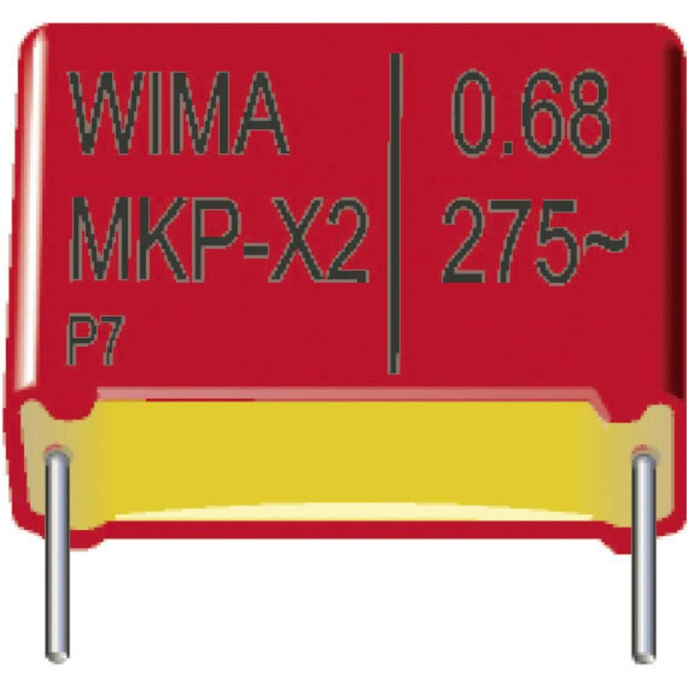 MKP-X2-Radijski kondenzator za uklanjanje smetnji, radijalno ožičen 0.22 µF 275 V/AC 20 % 15 mm (D x Š x V) 18 x 8 x 15 mm