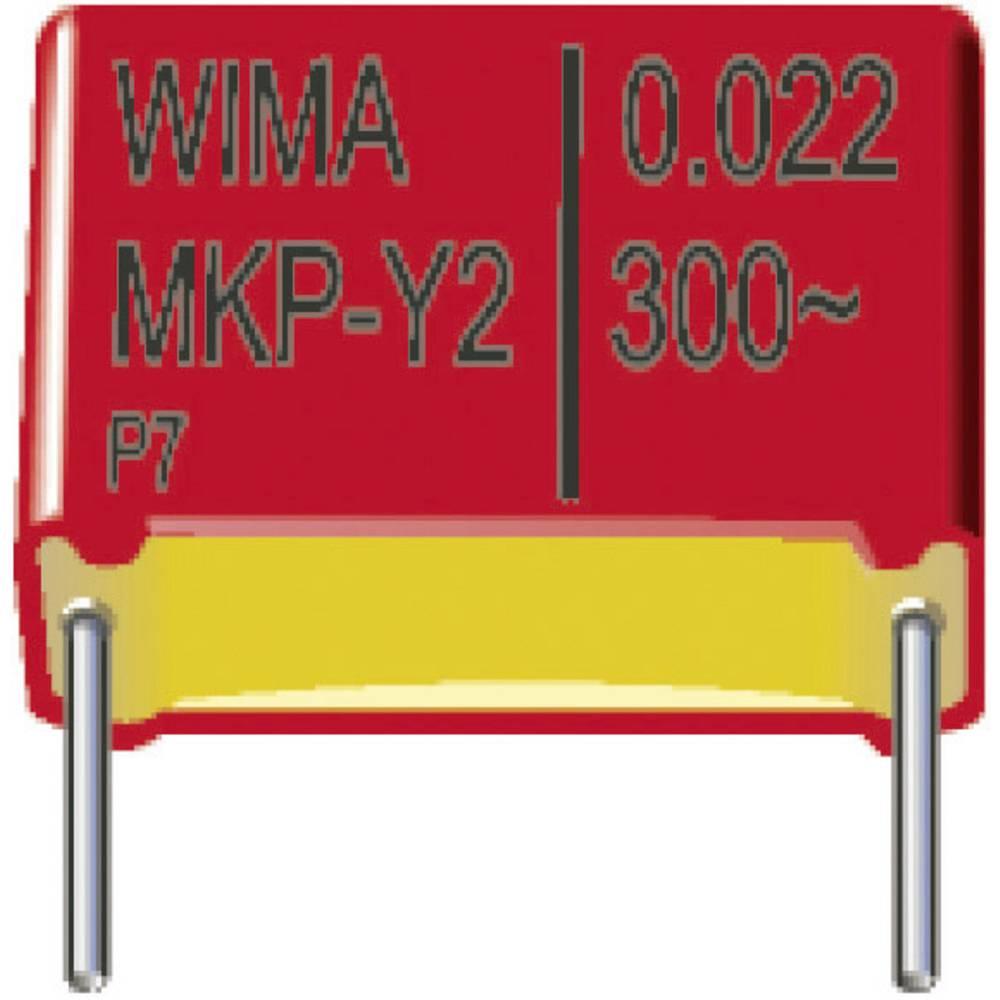 MKP-Y2-Radijski kondenzator za uklanjanje smetnji, radijalno ožičen 0.01 µF 300 V/AC 20 % 15 mm (D x Š x V) 18 x 5 x 11 mm