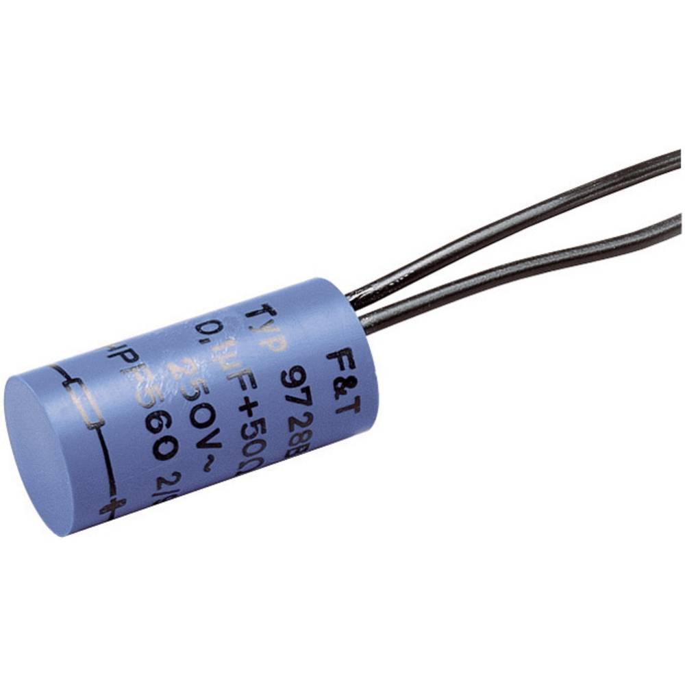 F & T kondenzator za uklanjanje poteškoća, 0,1 UF 100-OHM 0.1uF/100 ? 250 V/AC TYP 9729 B