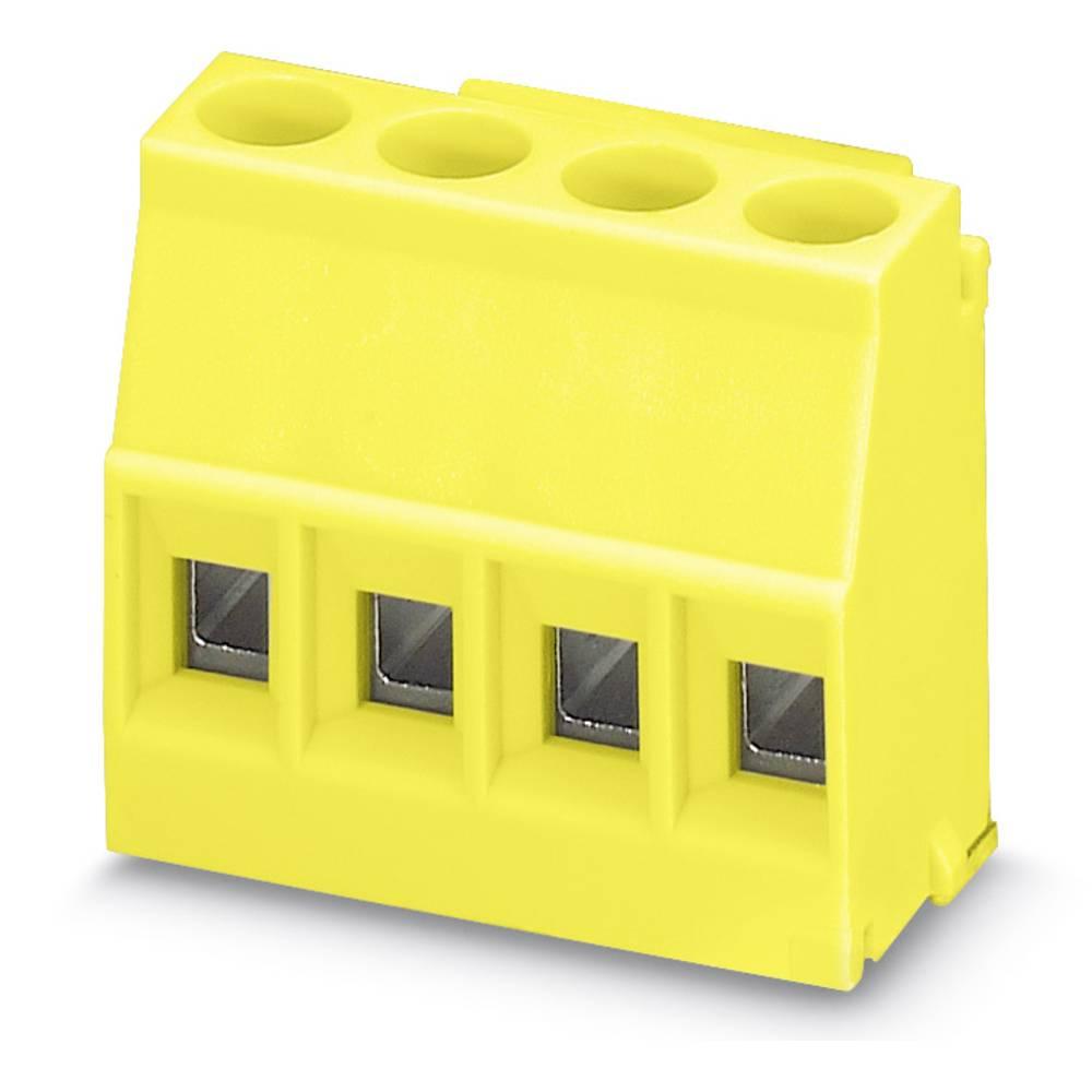 Kabinet-komponent Plast Phoenix Contact MKDSO 2,5/ 4-L YE 50 stk