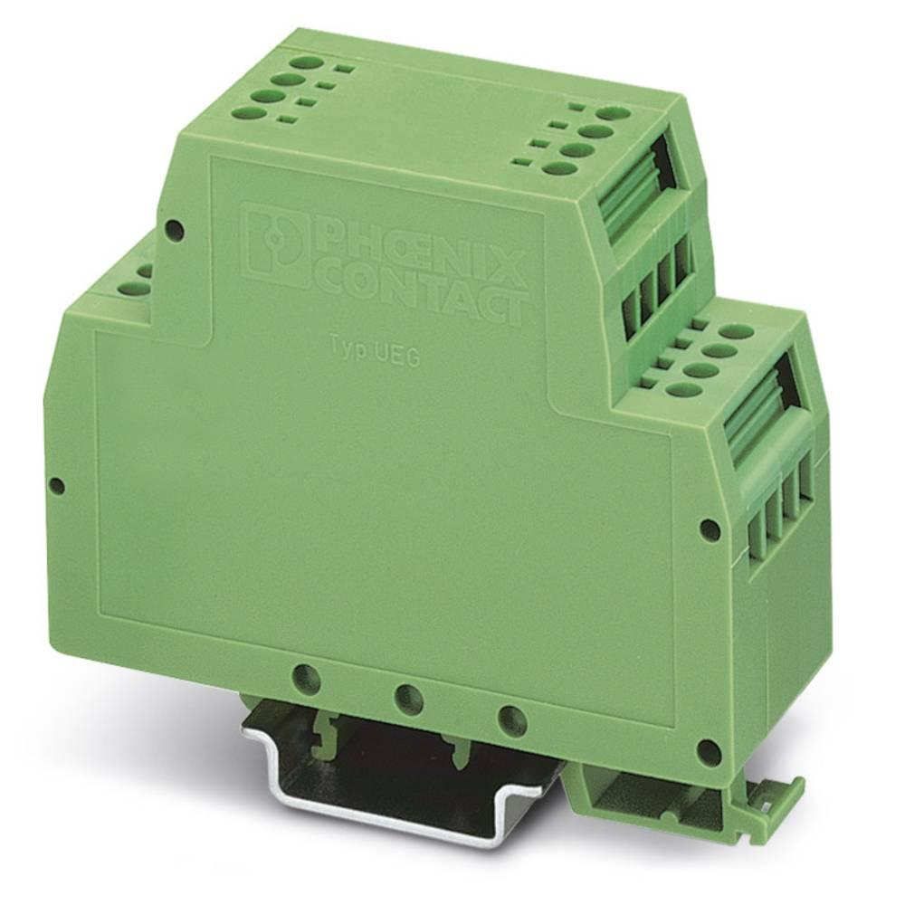 DIN-skinnekabinet Phoenix Contact UEG 30/1 Plast 10 stk