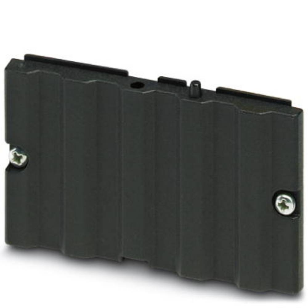 Kabinet-komponent Aluminium Sort Phoenix Contact UM-ALU 4 LID75 PA BK 1 stk