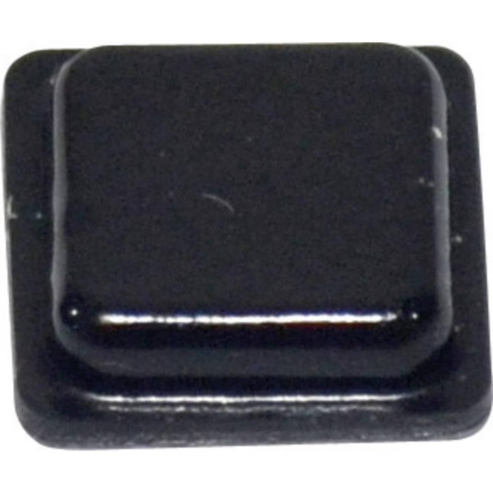 TOOLCRAFT PD2100SW-Samoljepljiva nogica, 10.2x10.2x2.5mm, PU,crna
