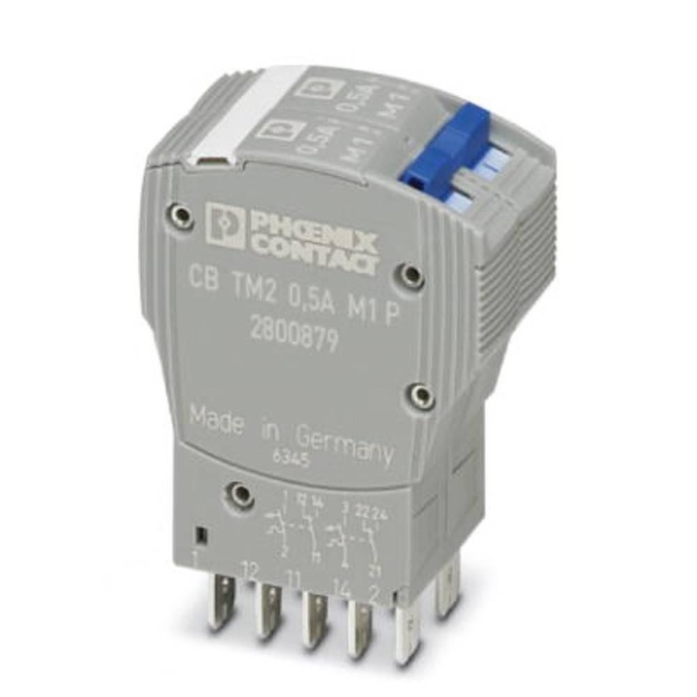 Termički zaštitni prekidač 250 V/AC 0.5 A Phoenix Contact CB TM2 0.5A M1 P 1 kom.