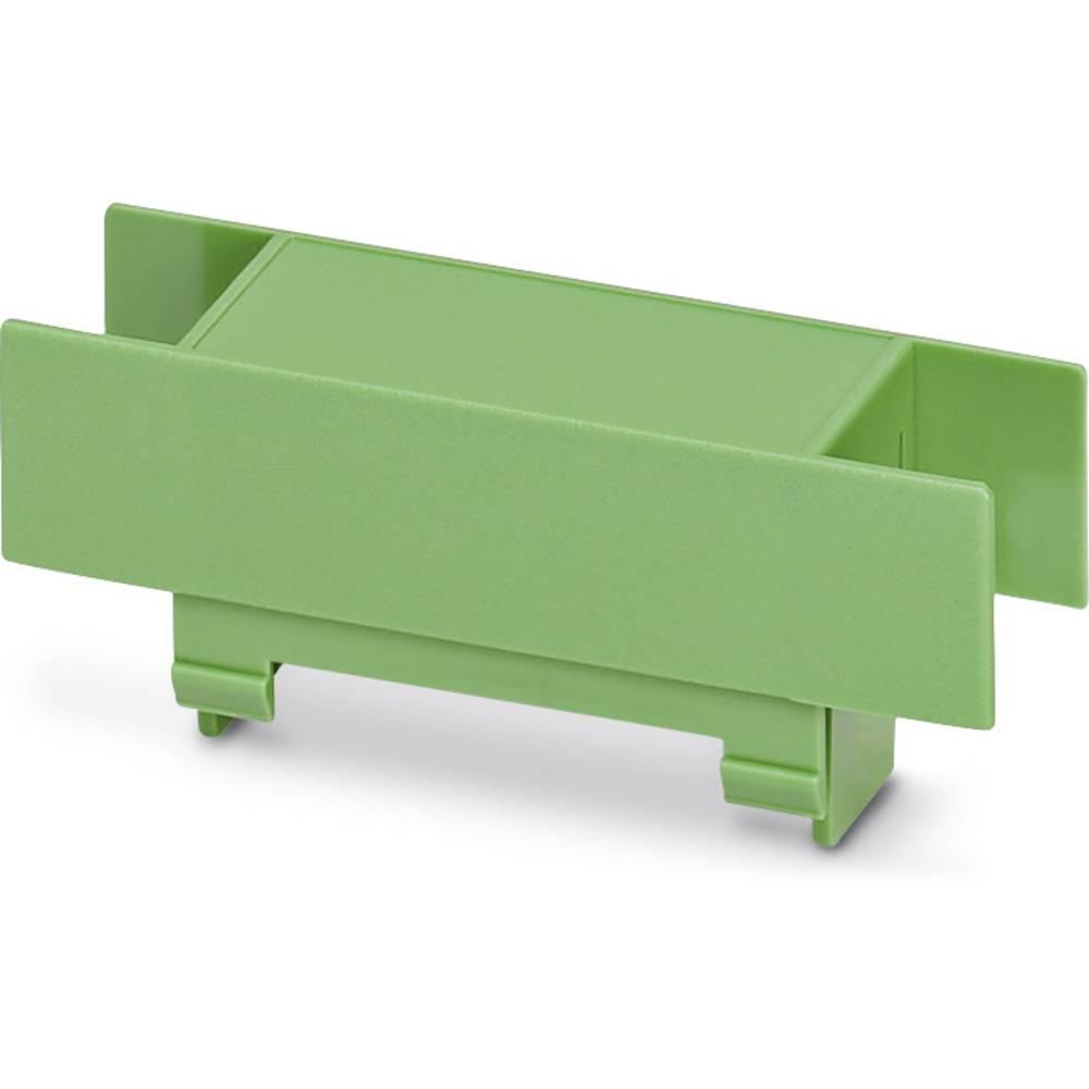 DIN-skinnekabinet dæksel Phoenix Contact EG 22,5-A/PC GN Plast 10 stk