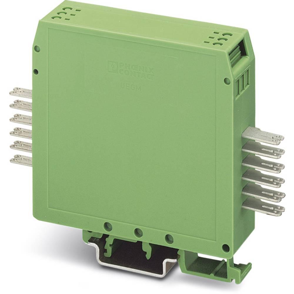 DIN-skinnekabinet Phoenix Contact UEGM 25-FS/FS Plast 10 stk