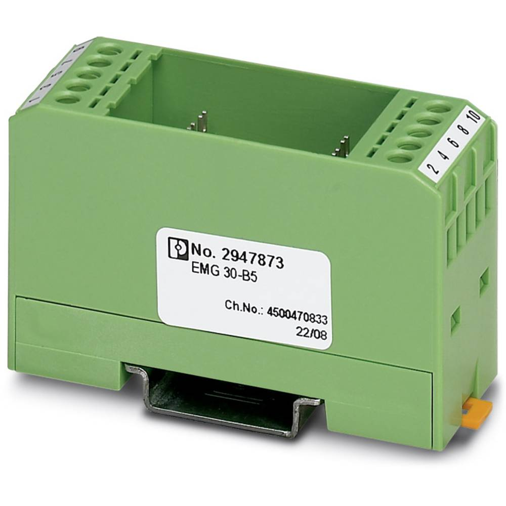 DIN-skinnekabinet Phoenix Contact EMG 30-B5 Plast 10 stk