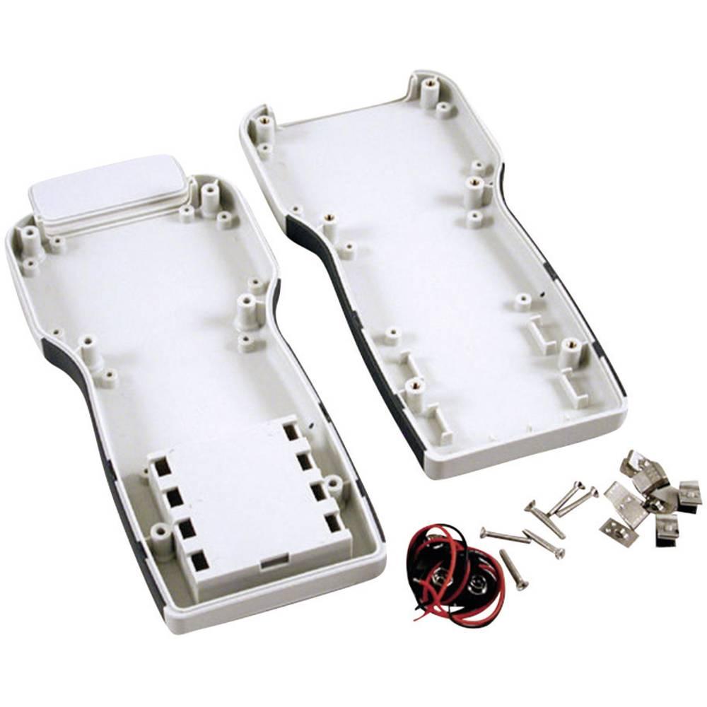 Hånd-kabinet Hammond Electronics 1553TGYBAT 210 x 100 x 32 ABS Grå 1 stk