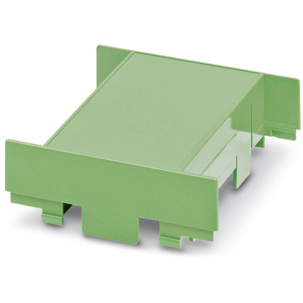 DIN-skinnekabinet dæksel Phoenix Contact EG 90-A/ABS GN Plast 10 stk