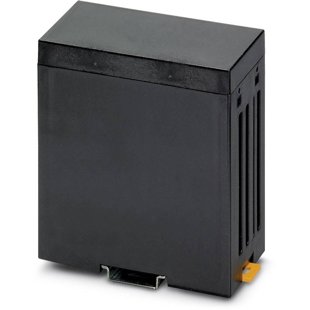 DIN-skinnekabinet Phoenix Contact CM 50-LG/H 12,5/BO BK Plast 5 stk