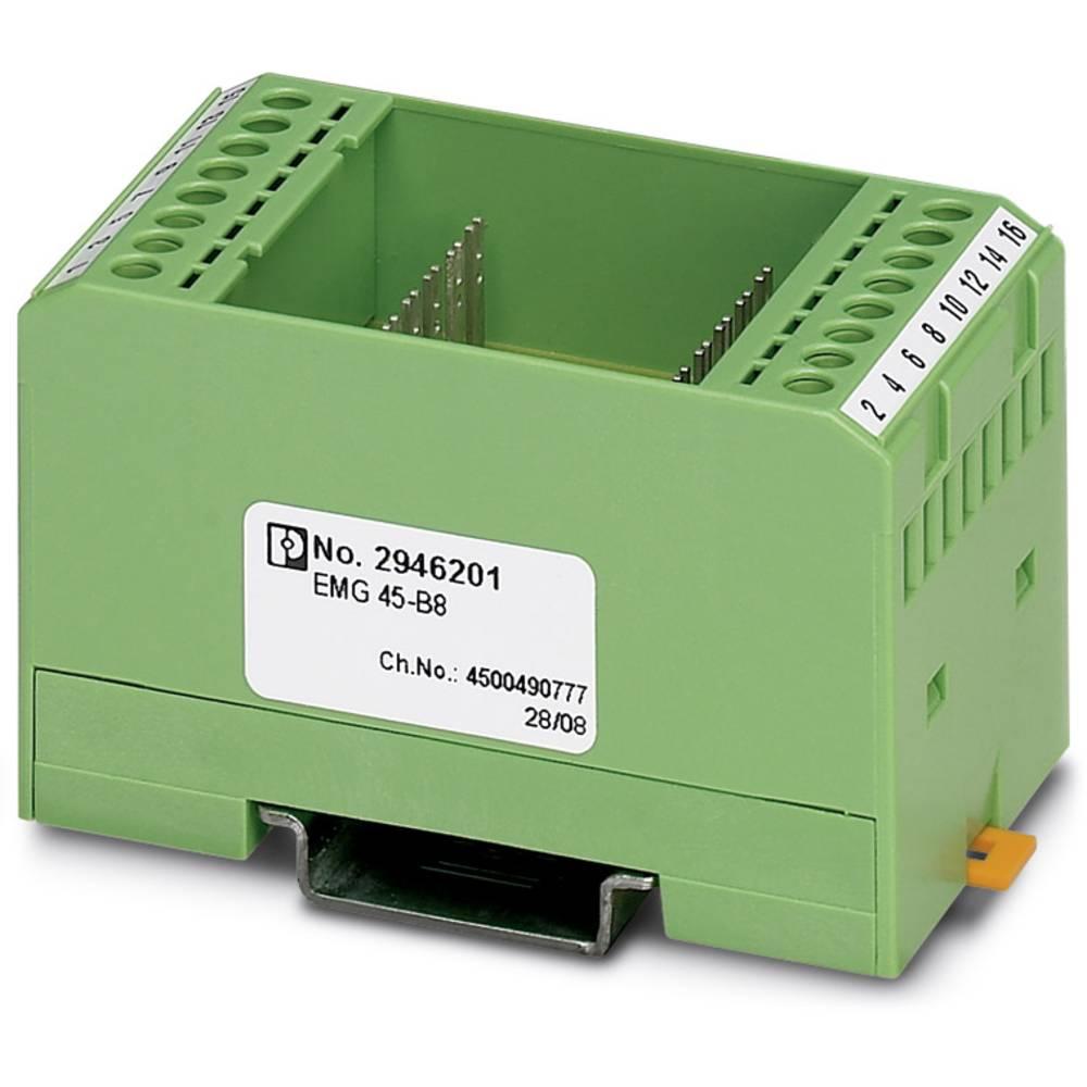 DIN-skinnekabinet Phoenix Contact EMG 45-B8 Plast 5 stk