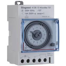 Analogna časovna stikalna ura za namestitev na vodila Legrand, 16 A/250 V