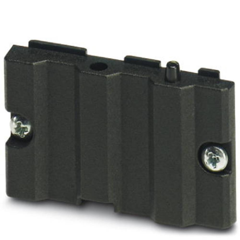 Kabinet-komponent Aluminium Sort Phoenix Contact UM-ALU 4 LID45 PA BK 1 stk