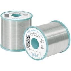 Neosvinčena žica za spajkanje Weller WSW SAC M1 Sn3.0Ag0.5Cu 100 g 0.5 mm