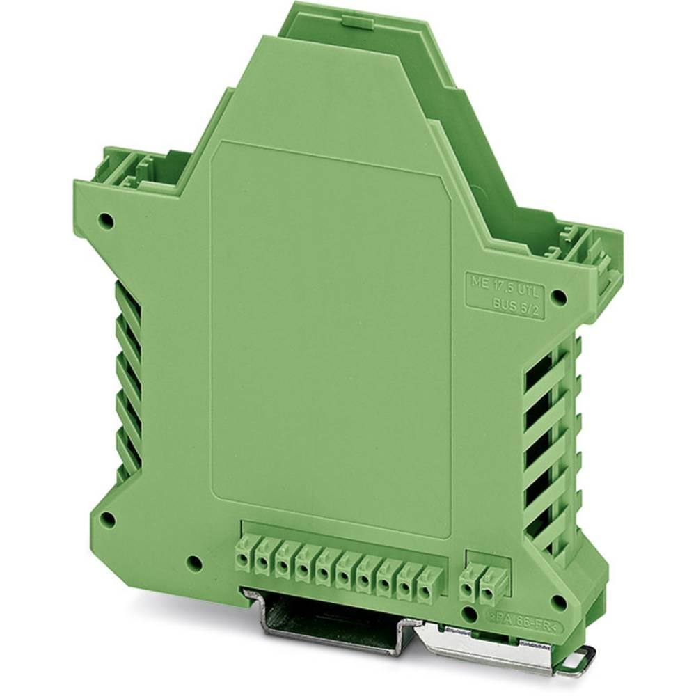 DIN-skinnekabinet underdel Phoenix Contact ME 17,5 UT/FE BUS/10+2 GN Polyamid 10 stk