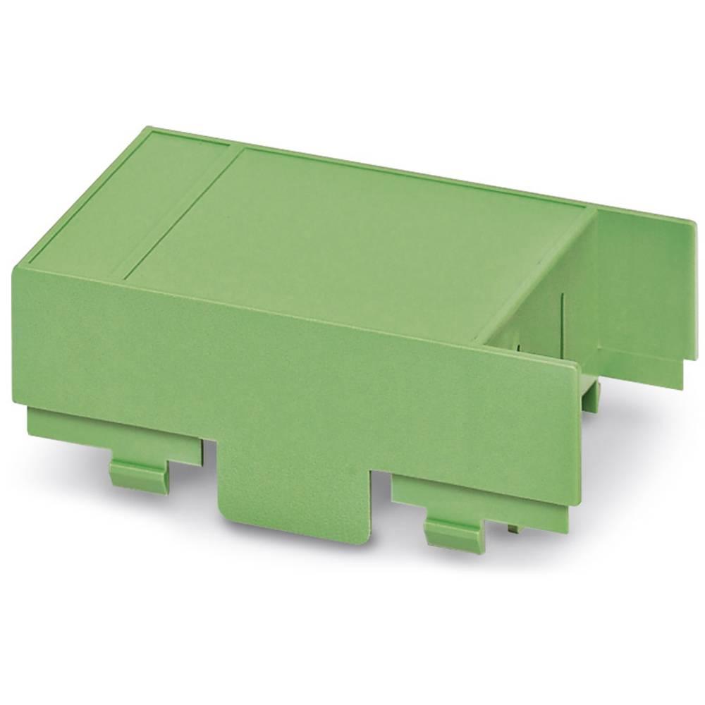 DIN-skinnekabinet dæksel Phoenix Contact EG 45-AE/ABS GN Plast 10 stk