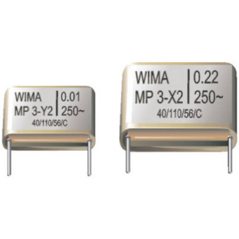 Kondenzator MP3-X2 0, 15uF 275VAC20% Wima