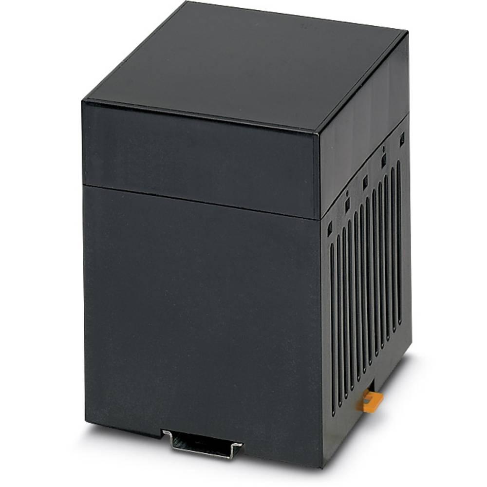 DIN-skinnekabinet Phoenix Contact CM125-LG/H 35/BO BK Plast 5 stk