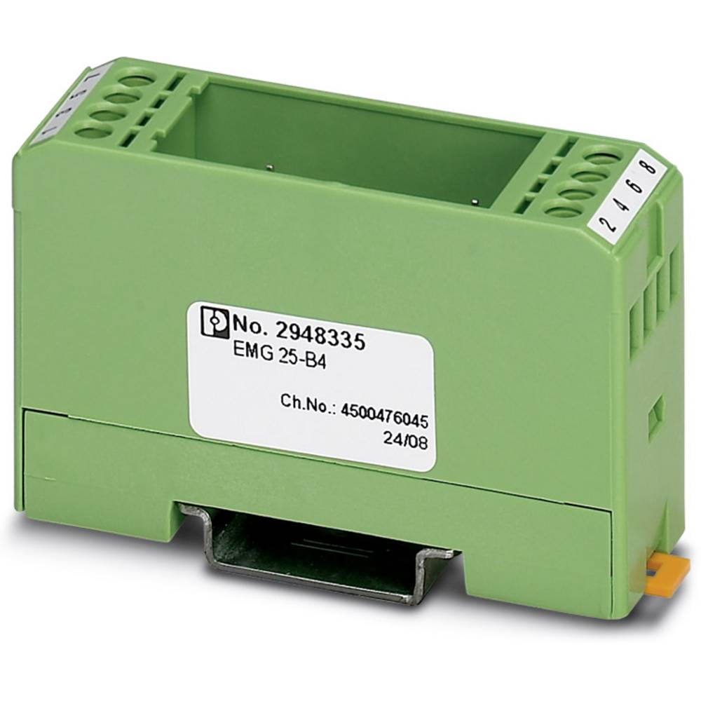 DIN-skinnekabinet Phoenix Contact EMK 12-B2 Plast 10 stk