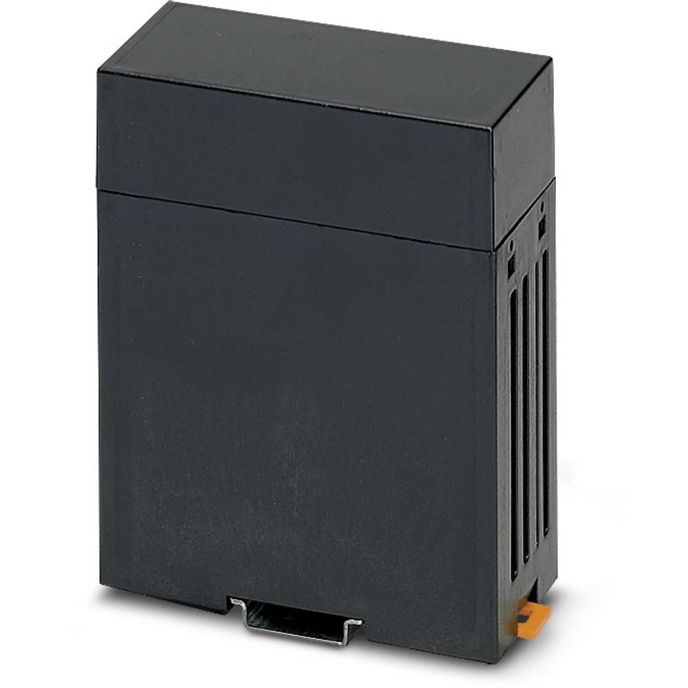 DIN-skinnekabinet Phoenix Contact CM 50-LG/H 30/BO BK Plast 5 stk