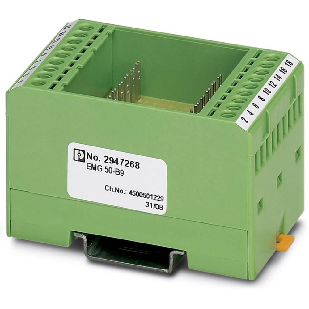 DIN-skinnekabinet Phoenix Contact EMG 50-B9 Plast 5 stk