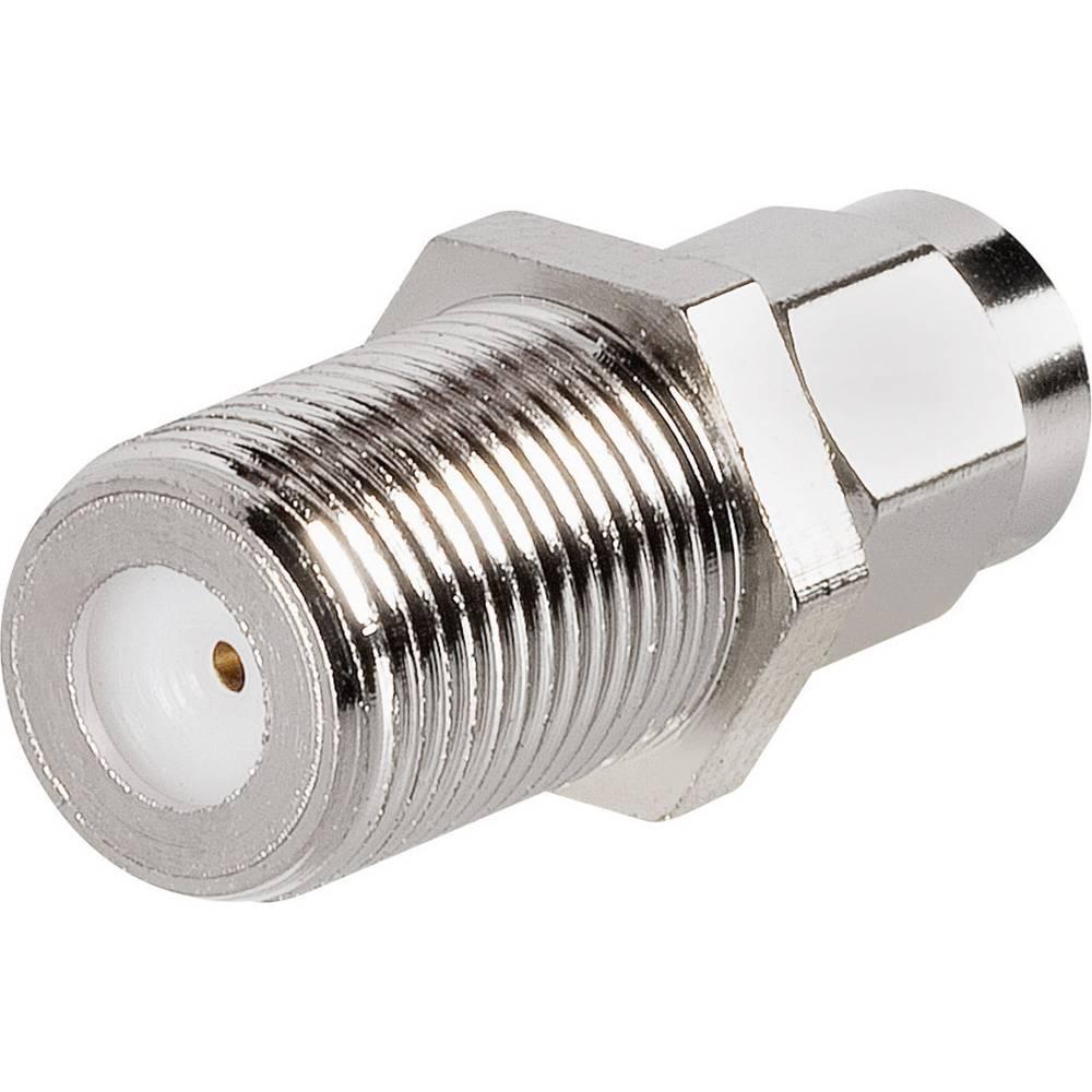 SMA-adapter SMA-vtič - F-vtičnica BKL Electronic 0409095 1 kos