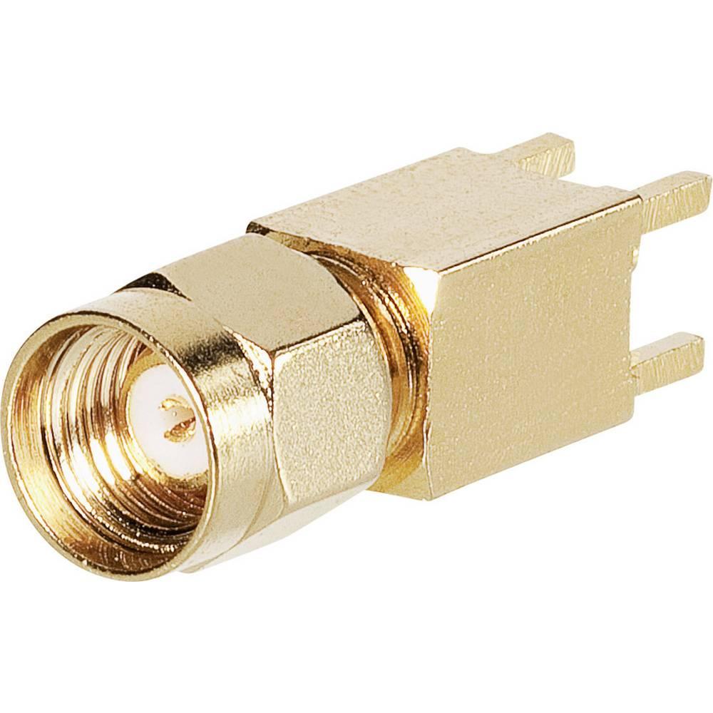 SMA-reverse-stikforbindelse BKL Electronic 0419024 50 Ohm Stik, indbygning lodret 1 stk