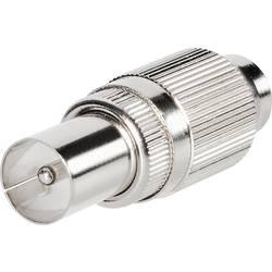 Koaksialni kovinski vtič, vtični konektor, premer kabla: 9.5 mm