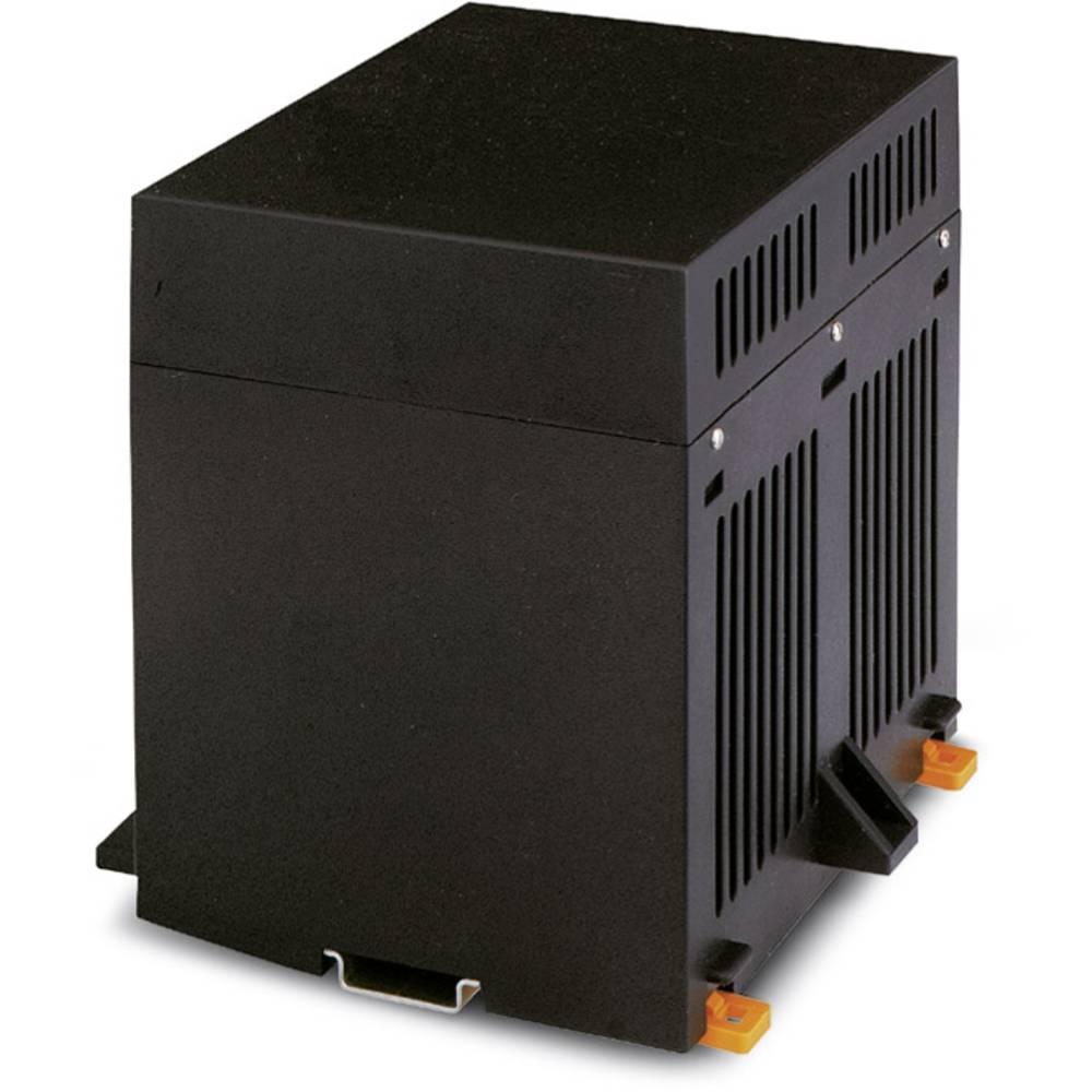 DIN-skinnekabinet Phoenix Contact CM175-LG/H 35/BO/DB/GH BK Plast 5 stk