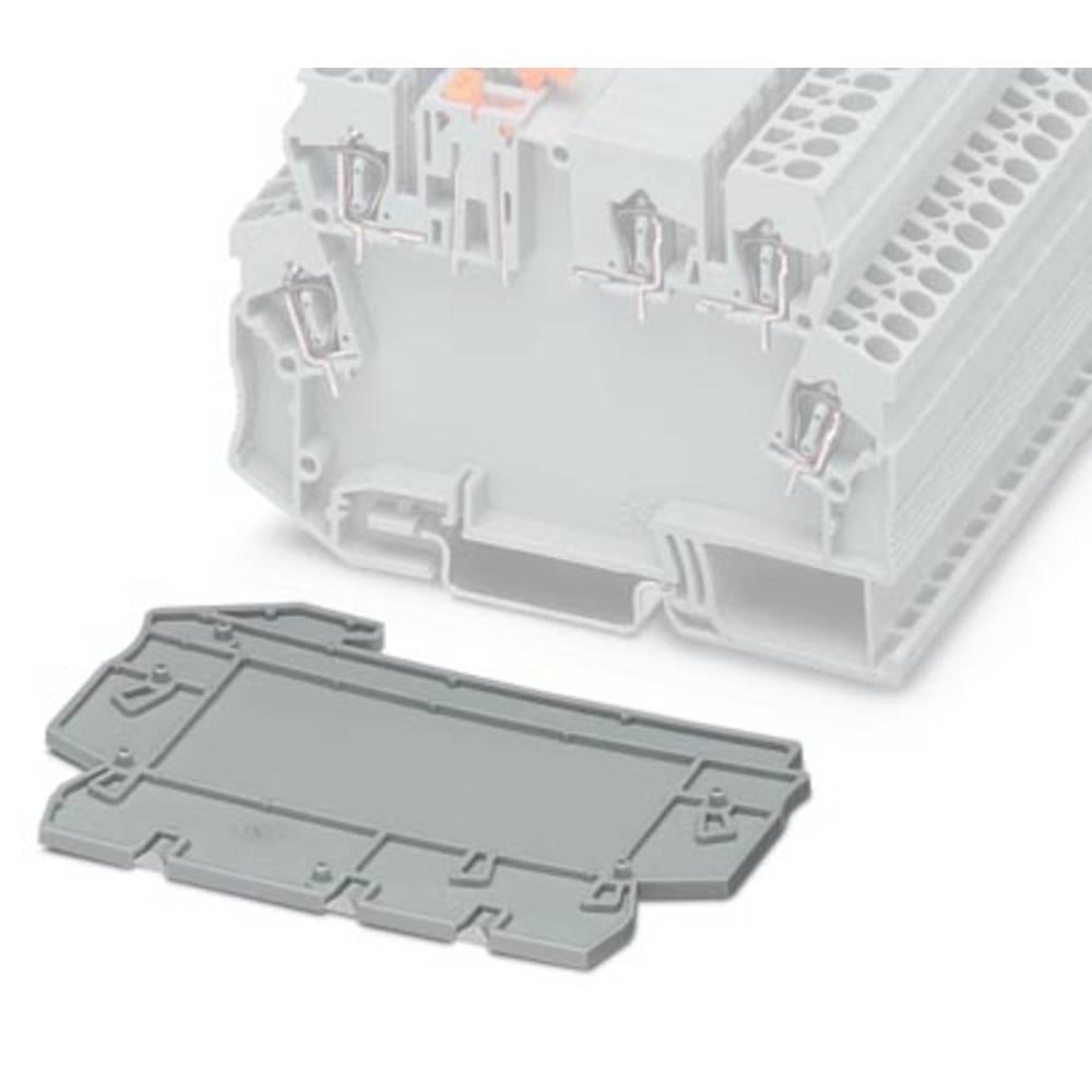 DIN-skinnekabinet sidedel Phoenix Contact D-STTCO 2,5 GY Plast 50 stk