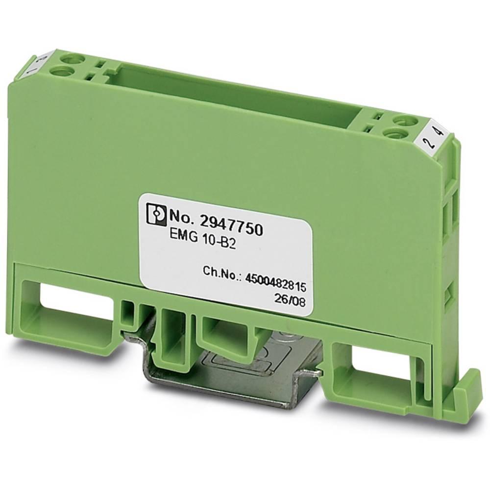 DIN-skinnekabinet Phoenix Contact EMG 10-B2 Plast 10 stk