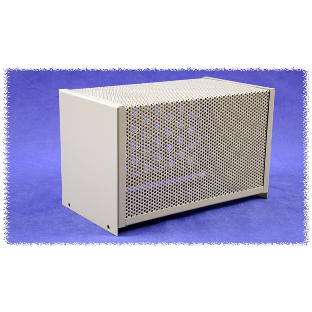 Dæksel til kabinet 254 x 152 x 132 Stål Grå Hammond Electronics 1451-16 1 stk