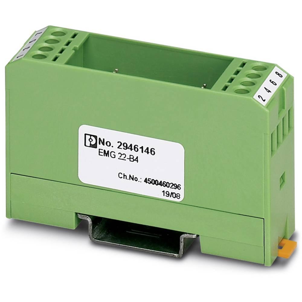 DIN-skinnekabinet Phoenix Contact EMG 22-B4 Plast 10 stk