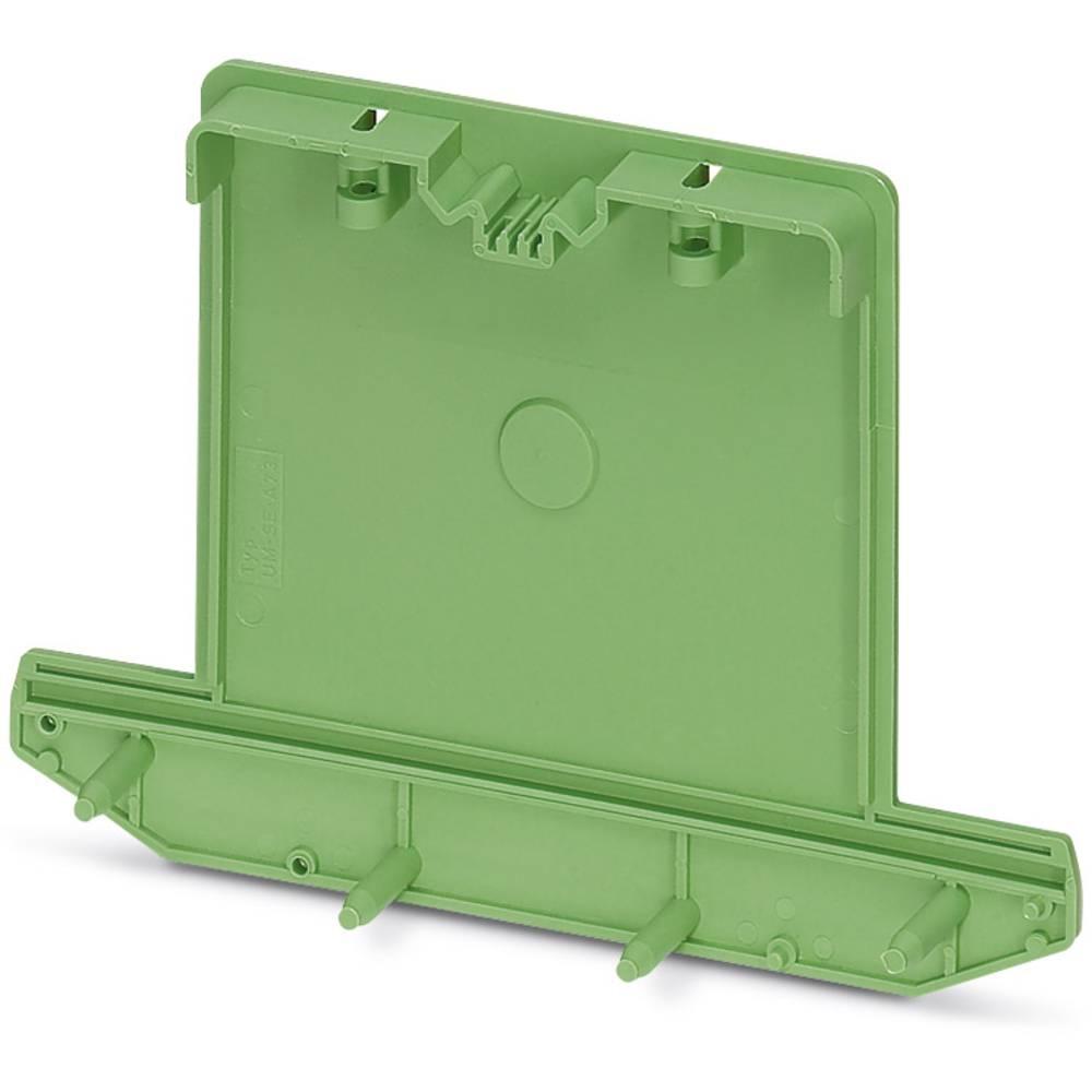 DIN-skinnekabinet sidedel Phoenix Contact UM-SE-A73 Plast 10 stk