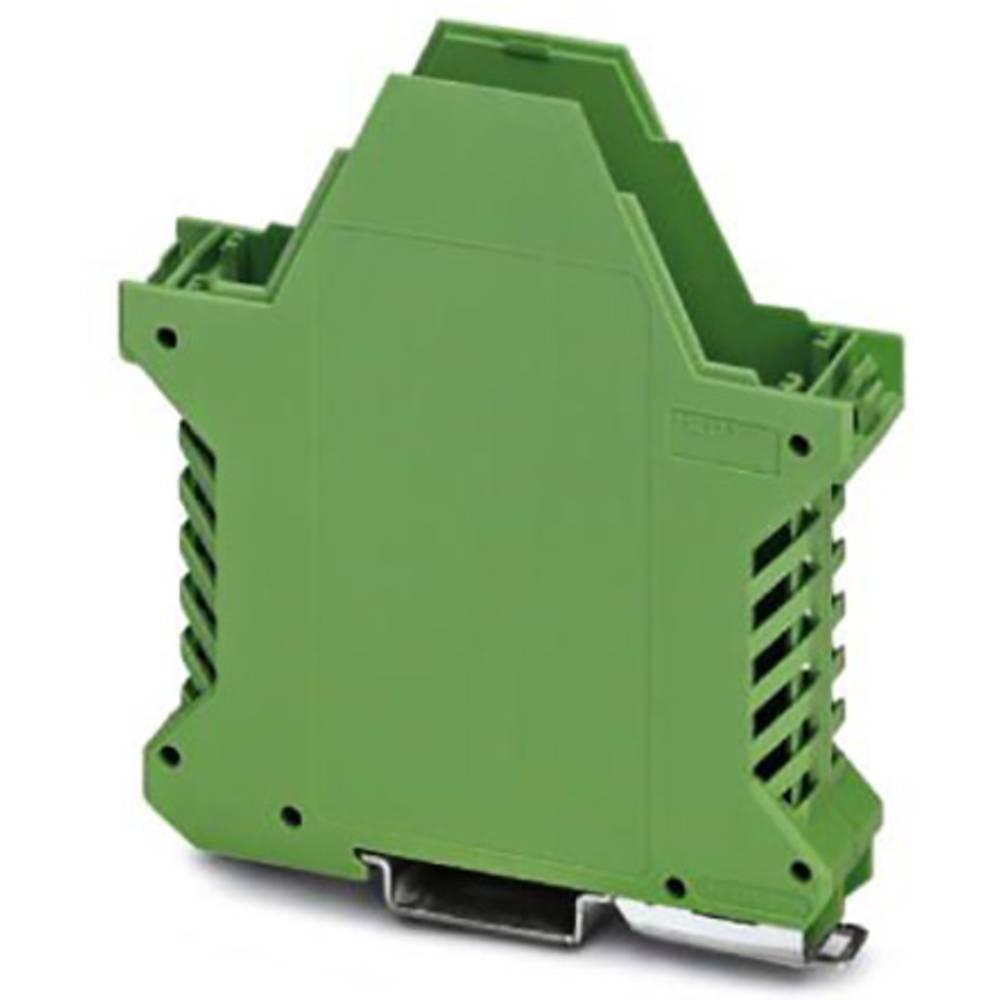 DIN-skinnekabinet underdel Phoenix Contact ME 22,5 UT/FE GN Polyamid 10 stk