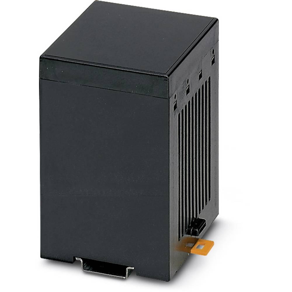 DIN-skinnekabinet Phoenix Contact CM 90-LG/H 12,5/BO BK Plast 4 stk