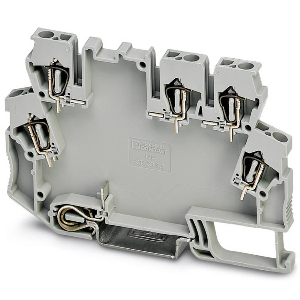 DIN-skinnekabinet Phoenix Contact STTCO-LG 2,5/5 ZB-PE GY Plast 50 stk