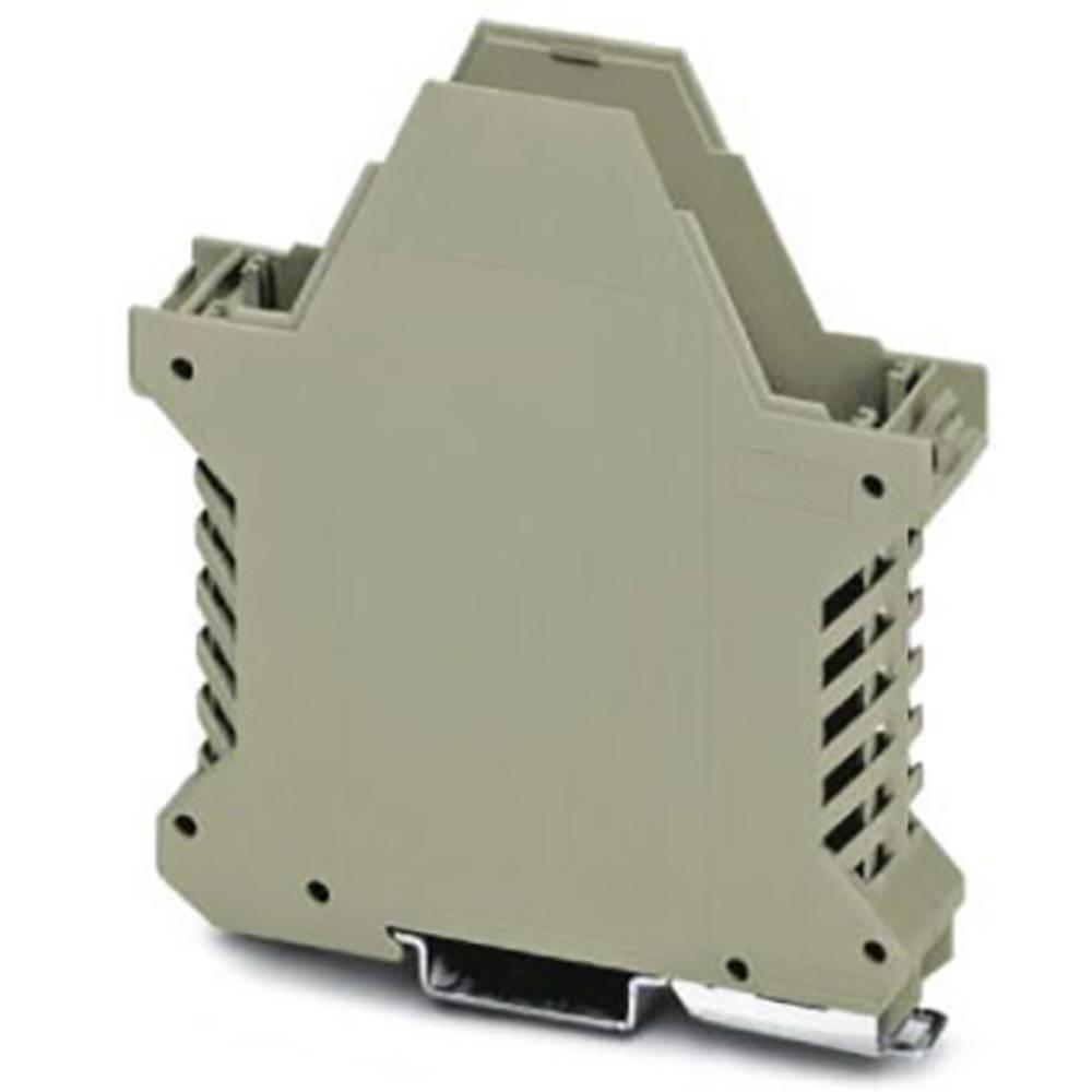 DIN-skinnekabinet underdel Phoenix Contact ME 22,5 UT/FE LBGY Polyamid 100 stk