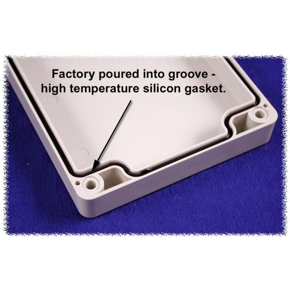 Tætning Hammond Electronics 1554FGASKET 1554FGASKET Silikone Sort 2 stk