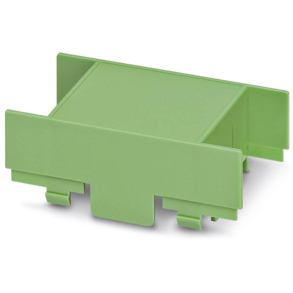 DIN-skinnekabinet dæksel Phoenix Contact EG 45-A/PC GN Plast 10 stk